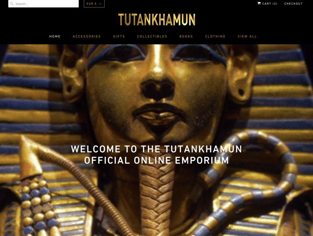 Tutankhamun Store