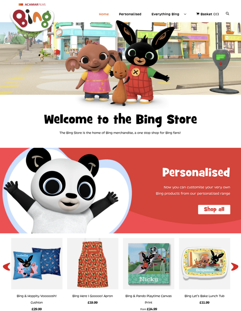 Bing Bunny Store